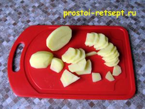 готовим блюдо из картошки