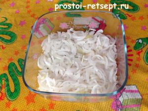 салат Натали с луком и яблоком 4