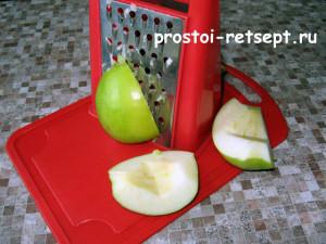 салат Натали с луком и яблоком 6
