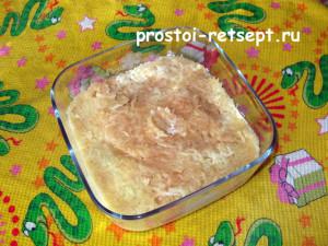 салат Натали с луком и яблоком 7