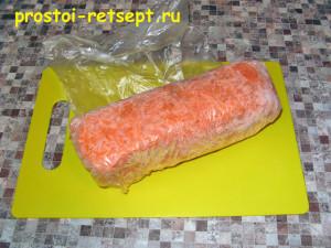 замороженные полуфабрикаты морковь
