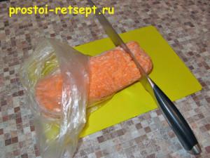 замороженные полуфабрикаты морковь тертая