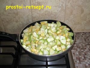 Как готовить жареные кабачки в сотейнике
