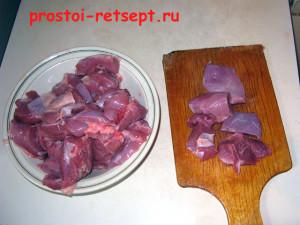 филе индейки нарезать для шашлыка