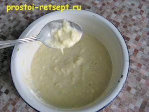 рецепт кабачковых оладьев: добавляем муку