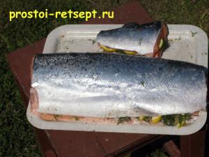 как коптить рыбу: рыба подготовлена