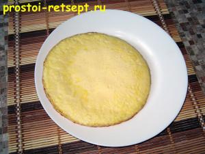 как готовить омлет: омлет на тарелке