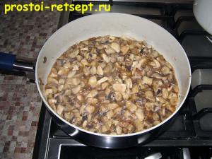 суп с шампиньонами: жарить 20 минут