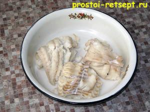 Салат с рыбой по-монастырски: сваренную рыбу остудить