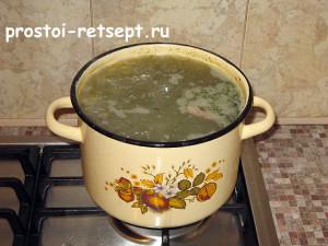 суп из консервированной сайры: варим еще 10 минут