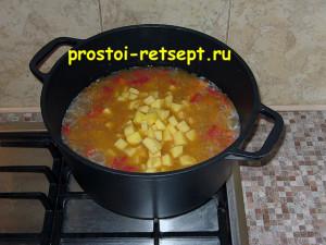 Как готовить лагман: добавить картошку