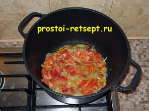 Как готовить лагман: обжариваем овощи 5 минут