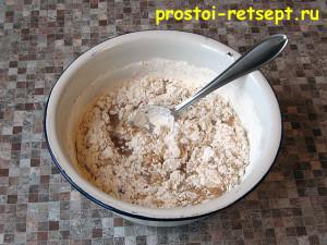 Коврижка: добавить муку и цедру апельсина или орехи