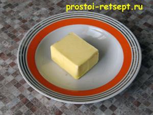 картофель в духовке: размягчите масло при комнатной температуре