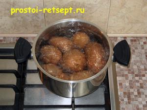 картофель в духовке: варим не очищая до готовности