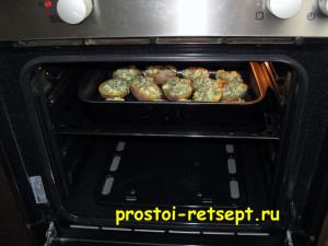 картофель в духовке запекаем 15 минут