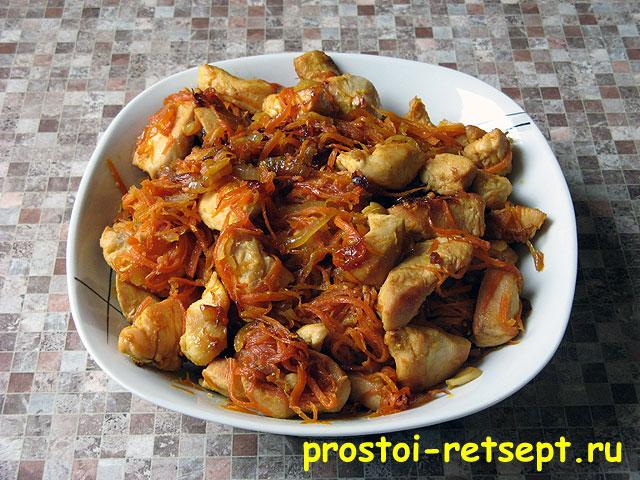 рецепт курица в соевом соусе на сковороде