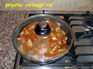 Курица в соевом соусе: тушить под крышкой 20 минут