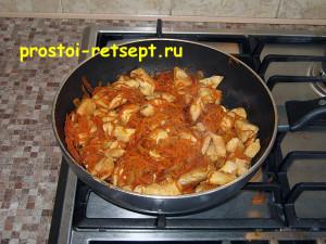Курица в соевом соусе: готовую курицу подавать с рисом или другим гарниром