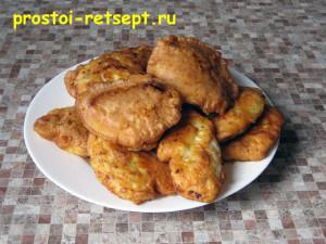 куриное филе в кляре: готовые кусочки снять на бумажное полотенце или блюдо