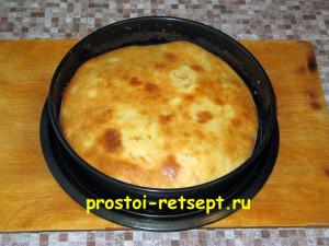 Хачапури с сыром выпекать 20-25 минут