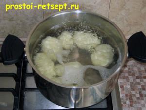 Как готовить окрошку на квасе: картофель сварить и остудить