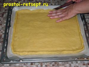 тертый пирог: делаем бортики из теста