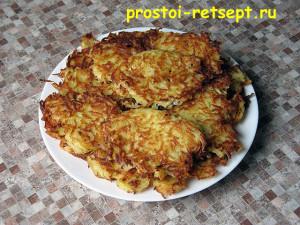 рецепт картофельных драников: повторяем процесс и подаем к столу