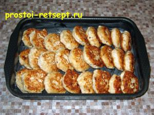 рецепт тефтелей: выкладываем тефтели в форму для запекания