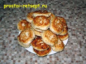 рецепт тефтелей: обжаренные тефтели снимаем на блюдо