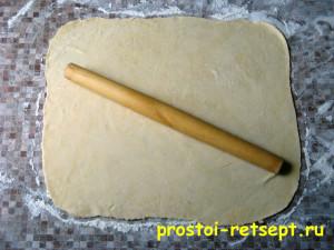 рецепт яблочного пирога: раскатать вторую часть теста