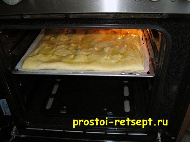 Пирог в духовке рецепты с с яблоками