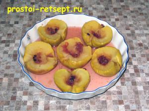 печеные яблоки в микроволновке: печем 8 минут
