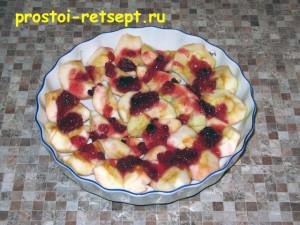 печеные яблоки в микроволновке: смазать мёдом или вареньем