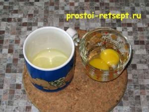 торт с вишней: отделяем белки от желтков
