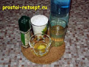 кольца кальмара в кляре: готовим кляр на минеральной воде
