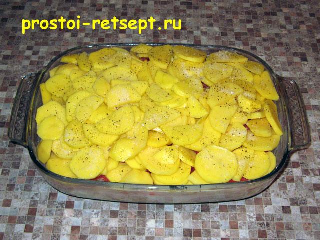 как вкусно запечь рыбу с картошкой в духовке