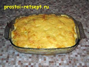 рыба с картошкой в духовке: запекать 40 минут