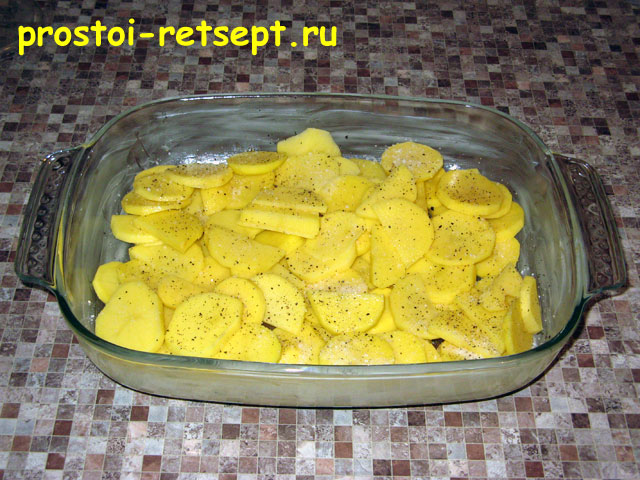 Рецепт картошки в духовке в стеклянной посуде