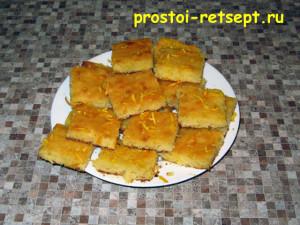 апельсиновый пирог: нежный бисквит
