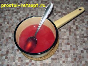 творожный чизкейк: приготовить желе