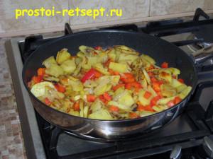 тортилья: добавляем красный сладкий перец
