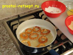 как приготовить кальмара: обжарить с двух сторон