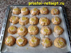 рождественское печенье: посыпать тертой цедрой