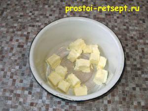 Сырный пирог: масло размягчить