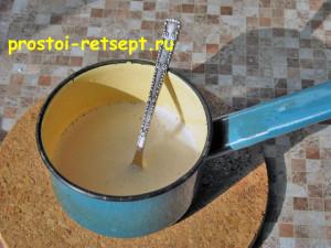 Десерт из творога: желатин растопить