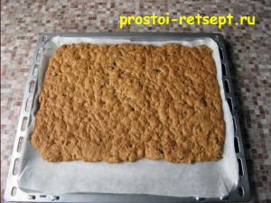 ореховое печенье: выпекать 15 минут
