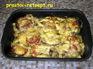 Свинина с грибами: через 45 минут блюдо готово