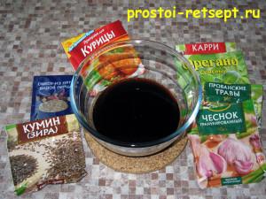 Как приготовить филе индейки: подготовить специи