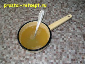 Творожное желе: желатин залить соком